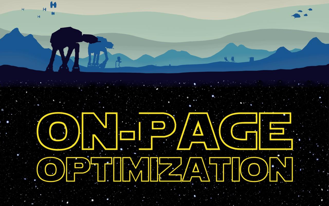 | onpage optimization 1